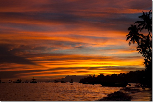 Sky on fire above Alona Beach_1280_for_Web