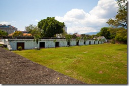 Barracks in Fort Cornwallis