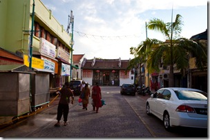 People on the Streets of Penang